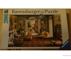 Ravensburger. Room with a View, 2000 деталей