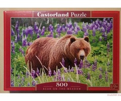 Castorland. Bear on the Meadow, 500 деталей