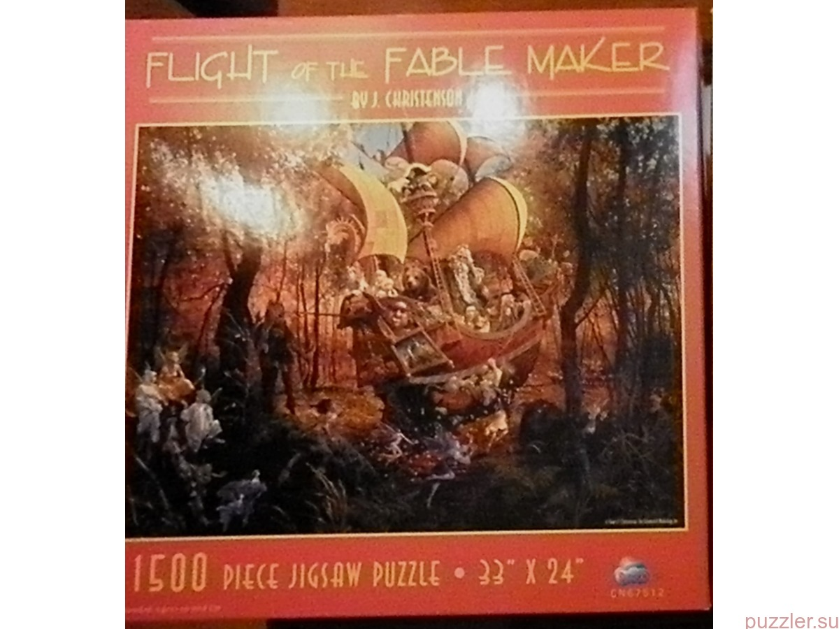 Sunsout 1500 Flight of the Fable Maker
