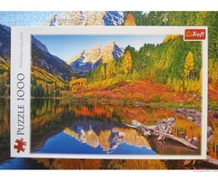 Trefl \ Maroon Lake, Aspen, Colorado \ Озеро Марун, Аспен, Колорадо, 1000