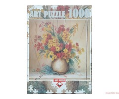 Art Puzzle, My Flowers, 1000